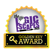 Golden Key Award Badge